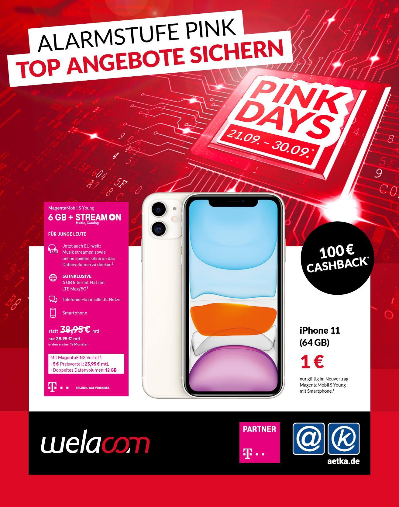 Pink Days Welacom