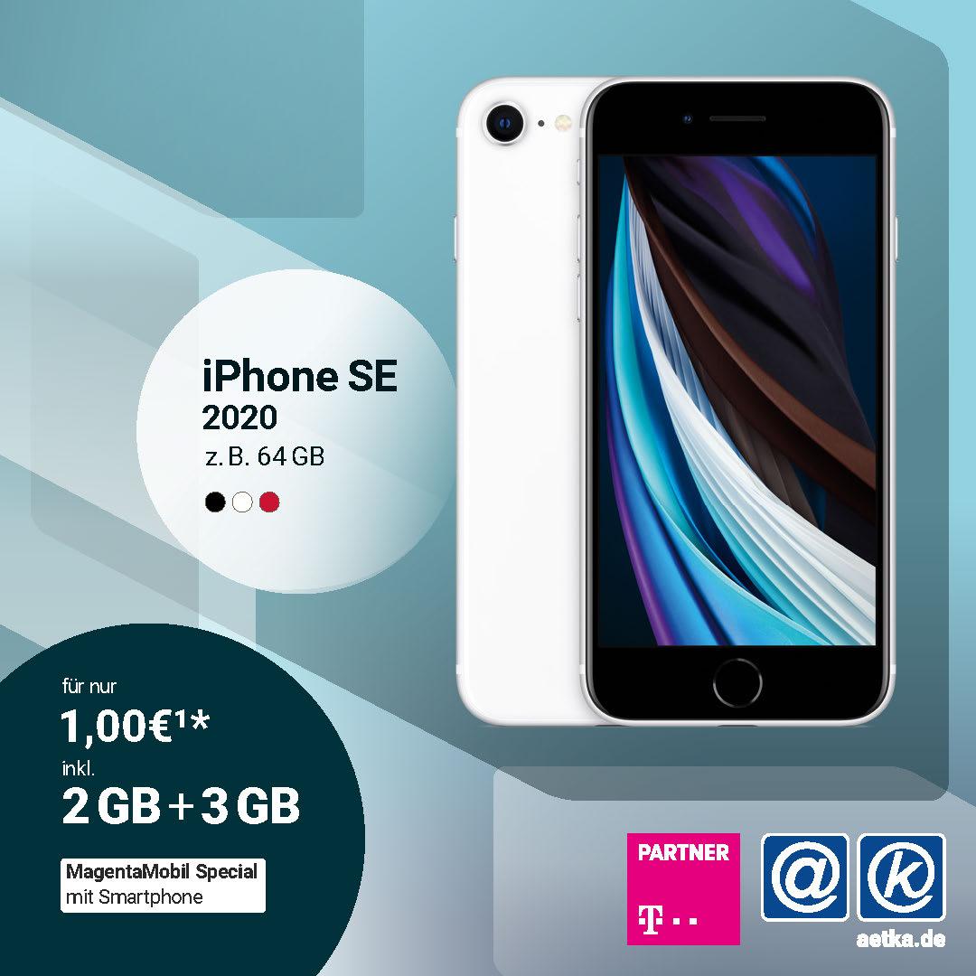 Iphone SE 2020 Welacom Telekom Deal