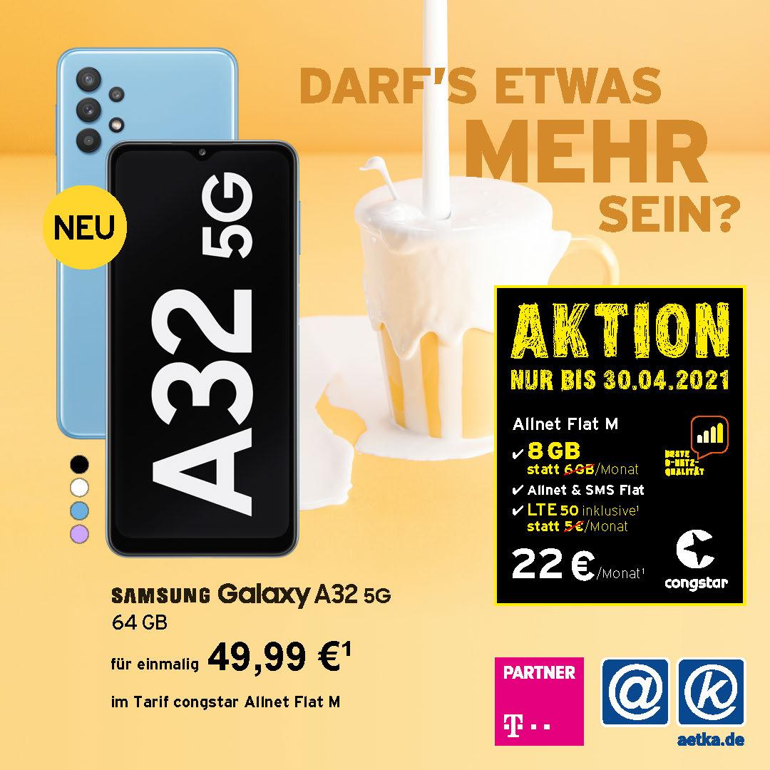 Congstar Aktion A32 5G Welacom