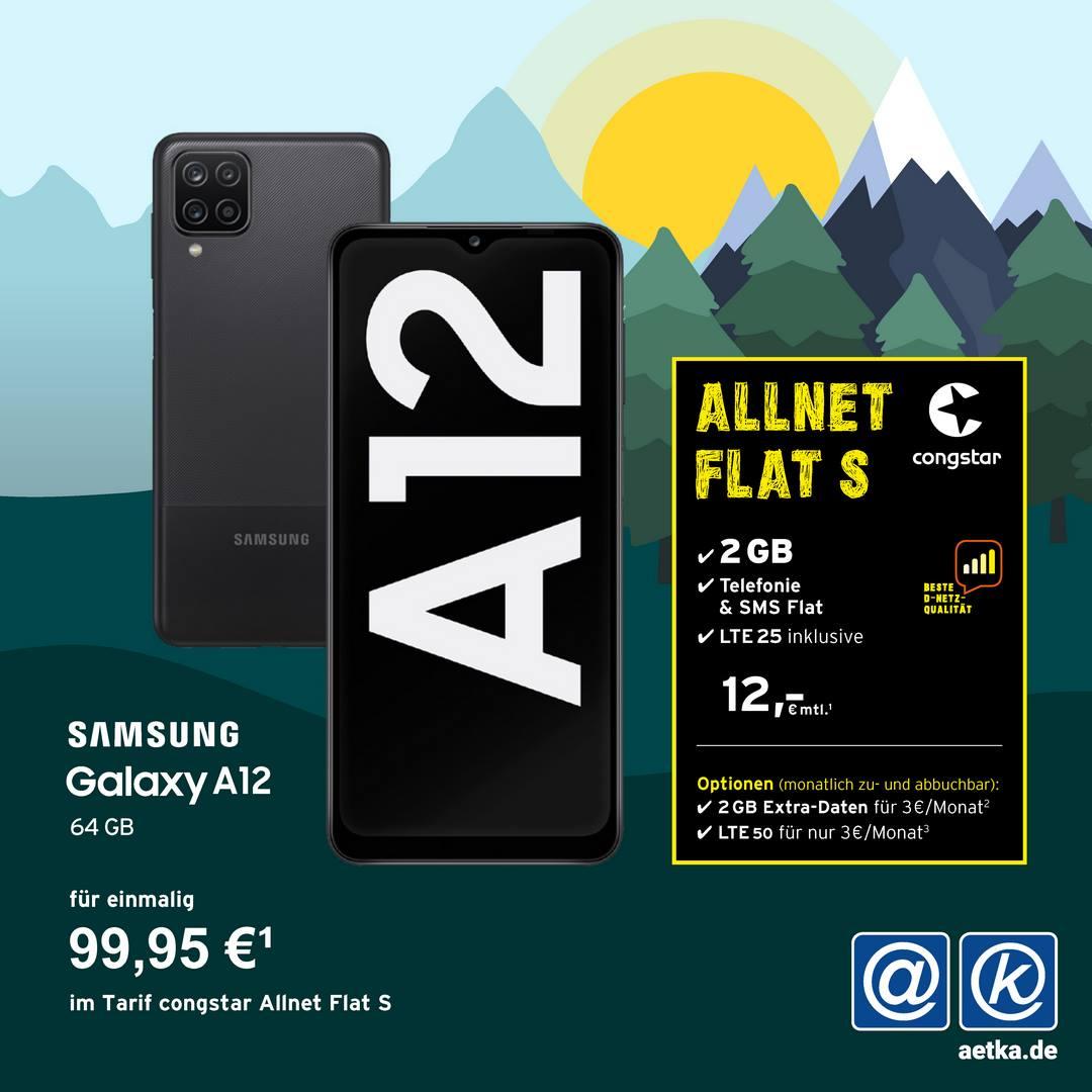 Aktion Telekom Welacom Congstar A12 Samsung