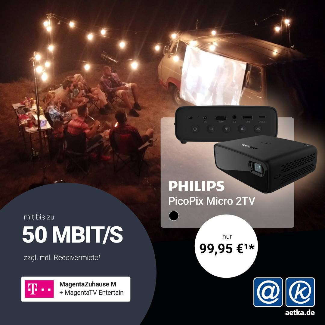 Philips Picopix Aktion Telekom Welacom